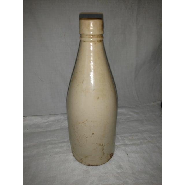 Antique Scottish Barrowfield Pottery Ginger Beer Bottle For Sale - Image 4 of 7
