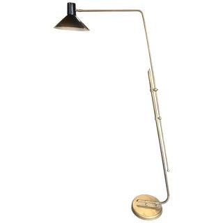 Vintage Italian Floor Adjustable Lamp, 1960s For Sale