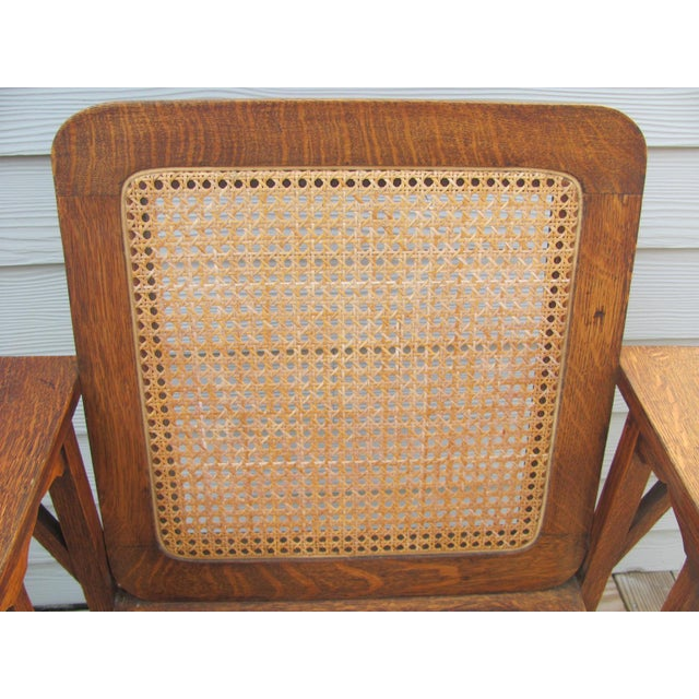 Early 20th Century Vintage David Walcott Kendall Craftsman Kendall Chair For Sale - Image 10 of 12