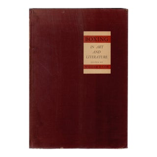 """1935 """"Boxing in Art and Literature"""" Coffee Table Book For Sale"""