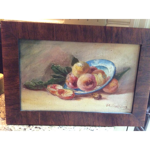 """""""Fruit"""" Still Life Oil Painting - Image 7 of 7"""