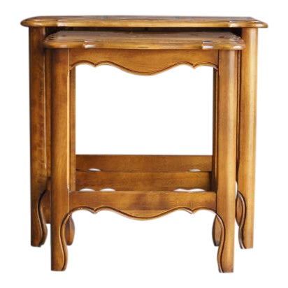 Tables Ethan Allen French Country Collection Bed Side End Table Vintage Wood Furniture