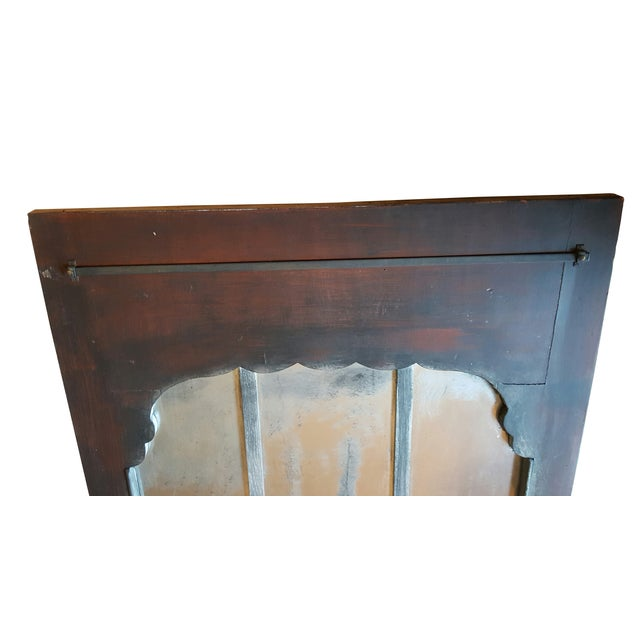 Antique Chateau Floor Mirror - Image 7 of 7