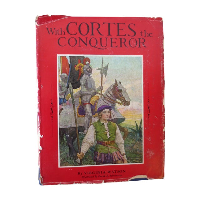 With Cortes the Conqueror, Illustrated 1st Edition - Image 1 of 7