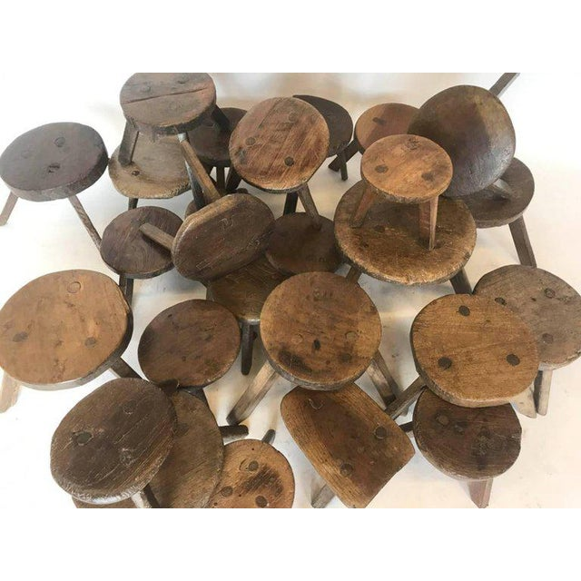 Wood 19th Century Milking Stools For Sale - Image 7 of 7