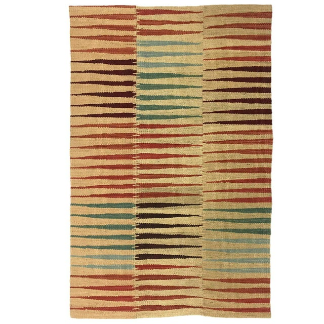 Our new line of rug & relic patchwork Kilims combine the very best of both design and weaving! Created using only hand-...