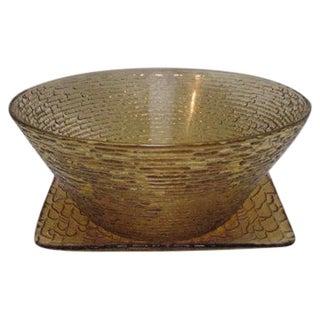 Italian Mid-Century Centerpiece Bowl For Sale