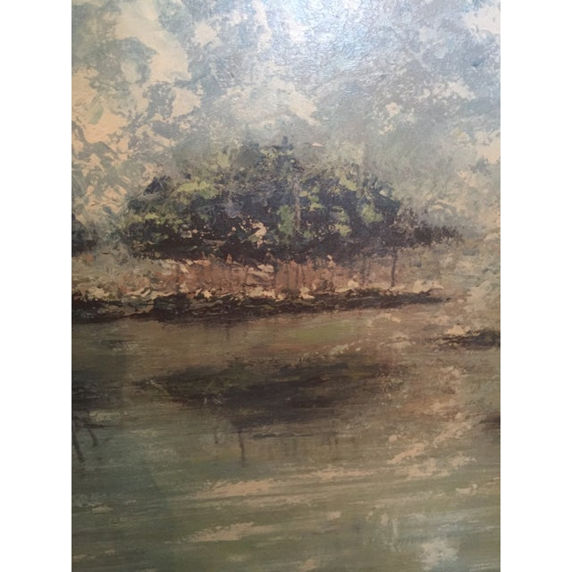 Impressionistic Landscape Painting - Image 4 of 4