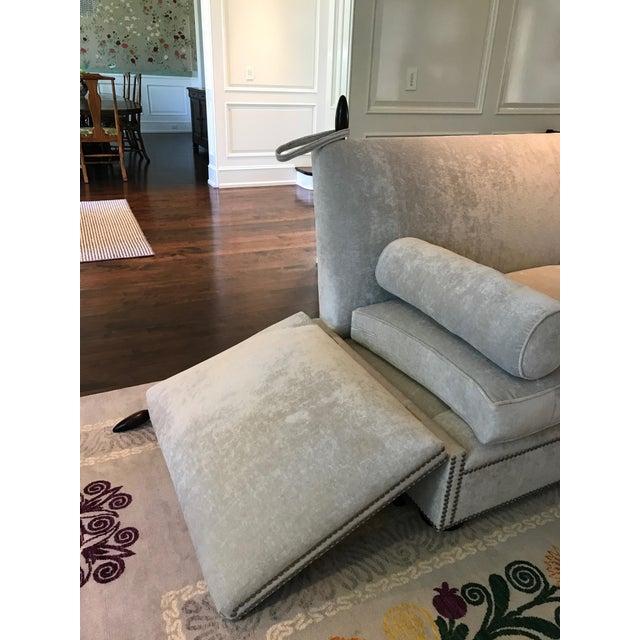 George Smith Light Silver Grey Sofa - Image 8 of 9
