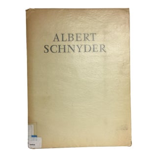 Albert Schnyder Folio Landscapes and Portraits, 1951 For Sale