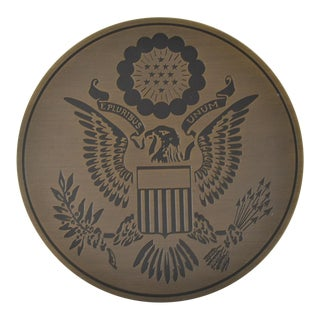 Vintage 1980 Embassy Seal and Letter For Sale