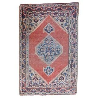 Antique Persian Tabriz Rug - 1′8″ × 2′8″ For Sale