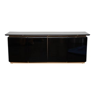 Lacquered Sideboard by Roger Rougier For Sale