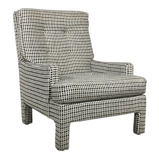 Milo Baughman Style Lounge Chair For Sale