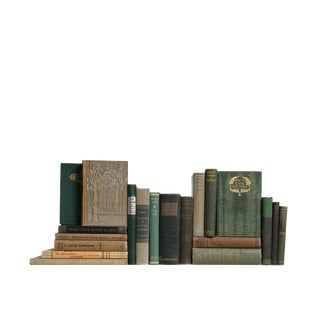 Vintage Garden Delight - Twenty Decorative Books