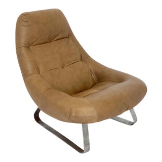 1960s Vintage Percival Lafer Lounge Chair For Sale
