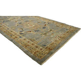 Early 21st Century Vintage Neoclassical Style Persian Sultanabad Extra-Long Runner- 3′3″ × 19′5″ Preview