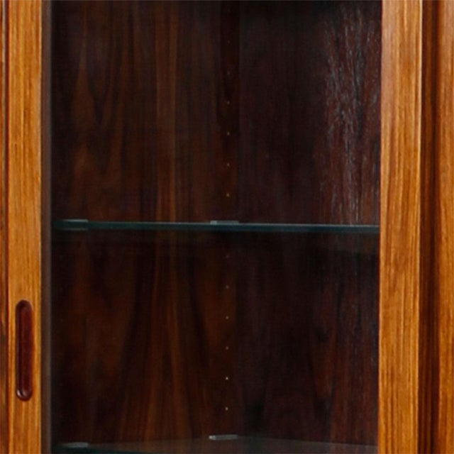 Danish Rosewood Bookcase / Display Cabinet - Image 7 of 8