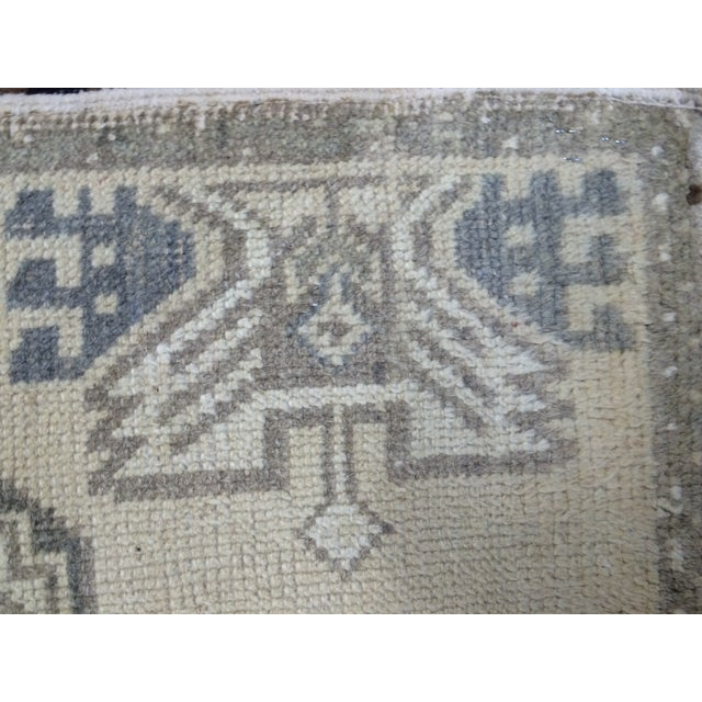 Anatolian Hand-Knotted Rug - 1′7″ × 3′1″ - Image 5 of 6