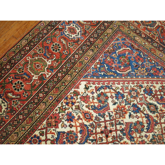 Mahal Sultanabad Rug. 10'8'' X 14'2''. For Sale - Image 4 of 9