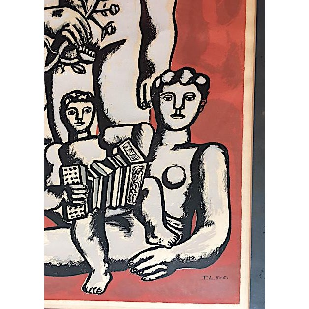 'The Three Sisters on Red' Seriograph For Sale In New York - Image 6 of 8