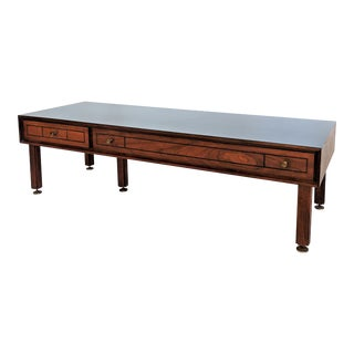 1960s Mid Century Modern Grosfeld House Coffee Table For Sale