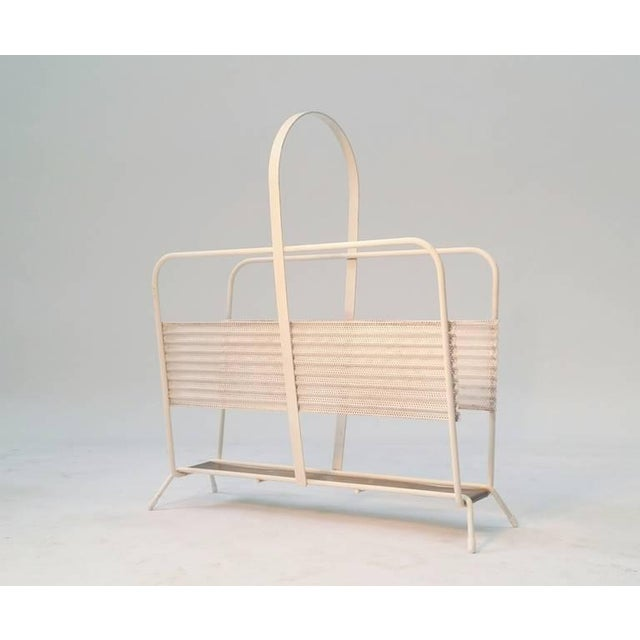 Magazine Rack From France by Mathieu Matégot For Sale In Providence - Image 6 of 6