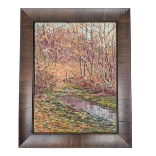 Early 20th Century Impressionist Painting by Leslie Hoffman For Sale