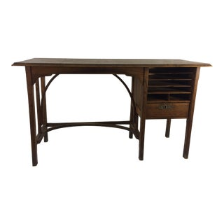 Art Nouveau Child's Desk For Sale