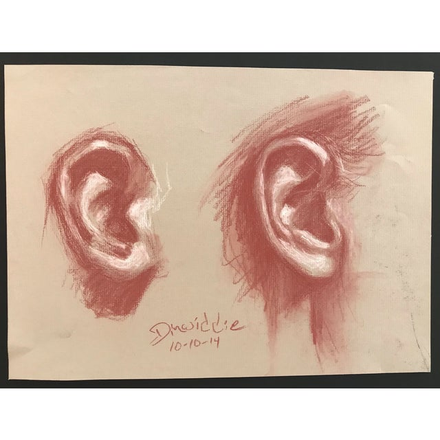 Contemporary Contemporary Ear Study by Dinwiddie For Sale - Image 3 of 3