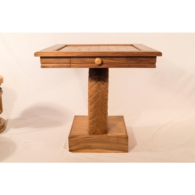 Billy Haines Style Horse Head Game Table and Seats - Image 11 of 11