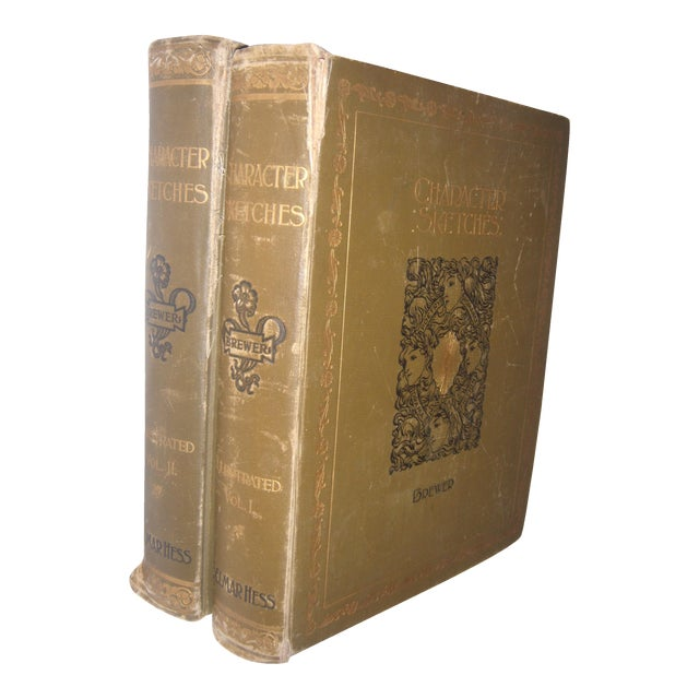 1892 Character Romance Fiction & Drama Sketches Books - Image 1 of 11