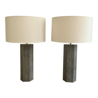Made Goods Poston Lamps - a Pair For Sale