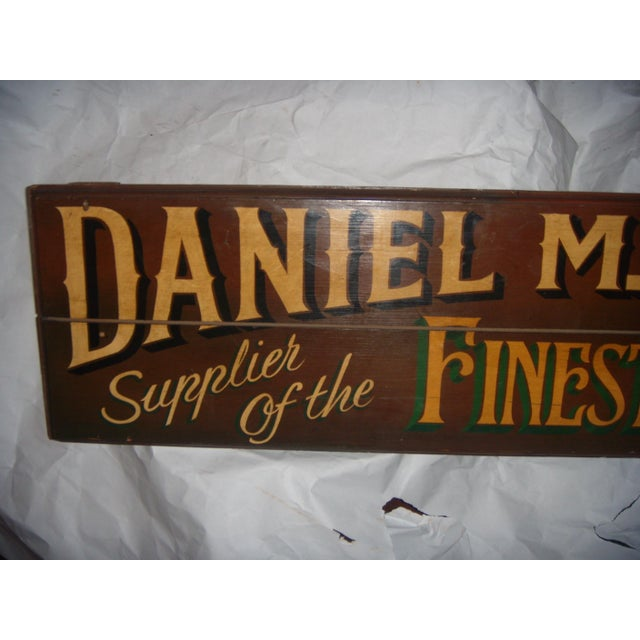 English Wood Shop Sign For Sale In New York - Image 6 of 8