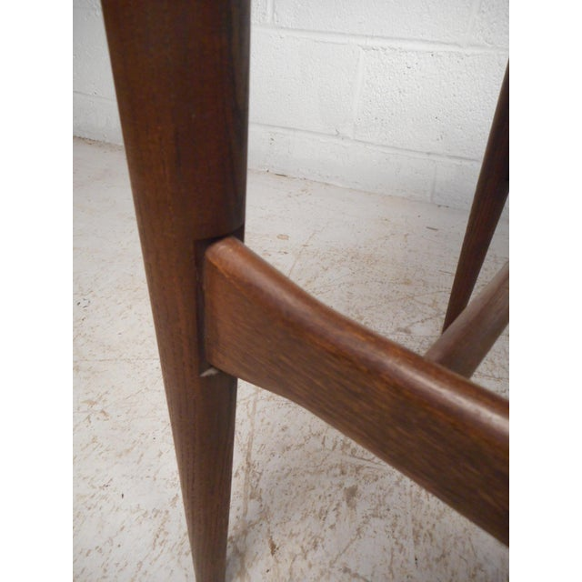 Surfboard Side Tables by Bassett Furniture Co., a Pair For Sale - Image 12 of 13