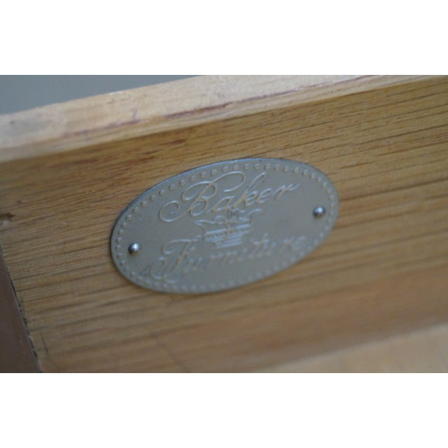 Baker George II English Style Knee Hole Desk - Image 8 of 10