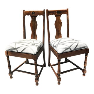 "Vintage ""The Charlie Chairs"" - A Pair For Sale"