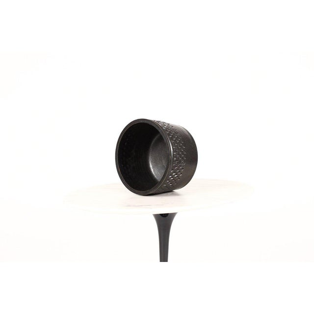 Wheel thrown ceramic stoneware planter handcrafted by Christian Boehr. Signed by the artist, and each piece is one of a...
