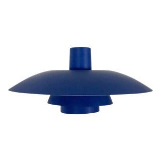 Louis Poulsen Ph4/3 Blue Pendant Lamp Blue For Sale