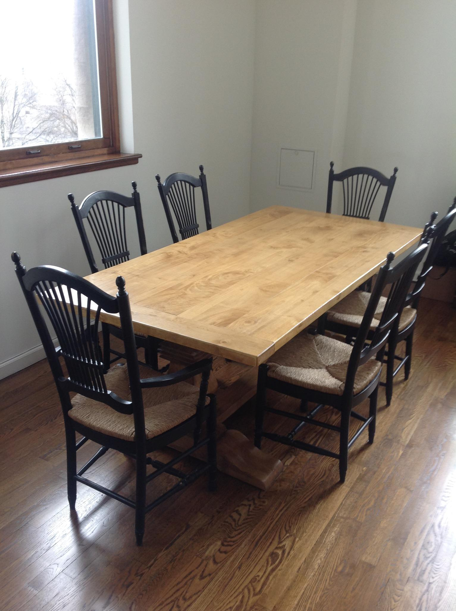 Perfect Table For Family Dining In Kitchen Or Gathering Friends In Great  Room. This Solid