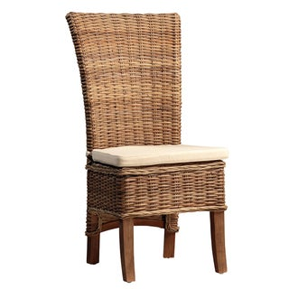 Rattan Dining Chair W/Cushion For Sale