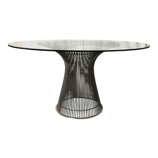 1960s Mid-Century Modern Warren Platner for Knoll Dining Table For Sale