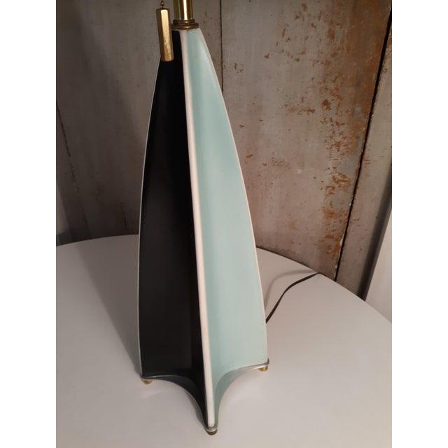 Lightolier Vintage Parabolic Fin Lamp by Gerald Thurston for Lightolier For Sale - Image 4 of 7