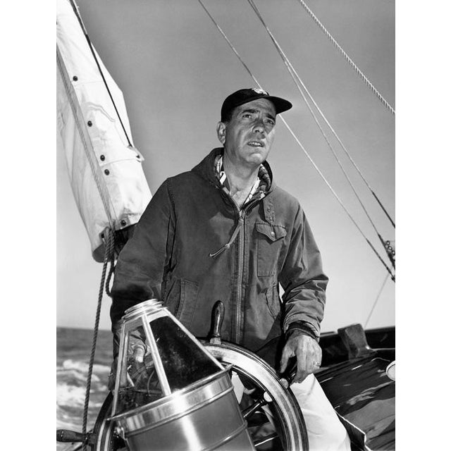 1950s Humphrey Bogart at the helm 1952 For Sale - Image 5 of 5