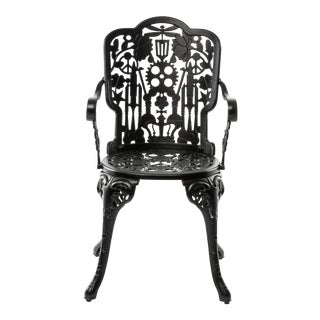 Seletti, Industry Armchair, Indoor/Outdoor, Black, Studio Job, 2017 For Sale