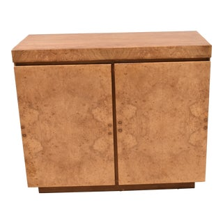 "Roland Carter for Lane ""Alpha Collection"" Burl Wood Sideboard For Sale"