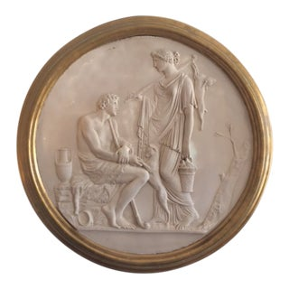 20th Century Neoclassical Wall Medallion For Sale