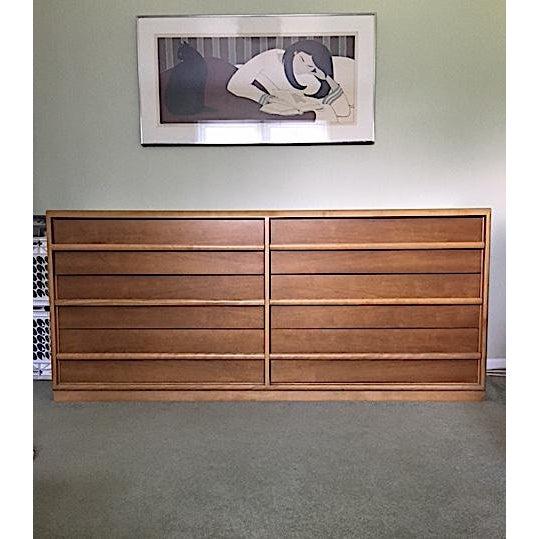 Vintage t.h. Robsjohn-Gibbings for Widdicomb Dresser - Image 2 of 6