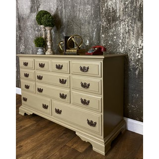 1950s Vintage Painted Cottage Chest Preview