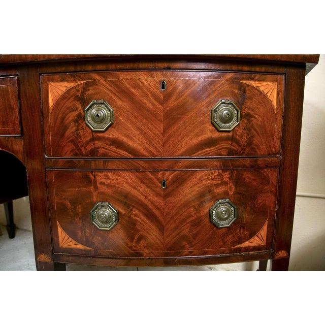 English Georgian Style Mahogany Sideboard - Image 4 of 9